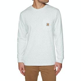 Carhartt Pocket Long Sleeve T-Shirt - Ash Heather