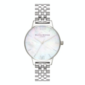 Orologio Donna Olivia Burton Mother Of Pearl Bracelet - White Pearl And Silver