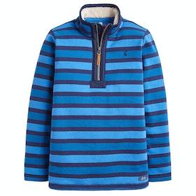 Joules Winter Dale Boys Sweater - Blue Stripe