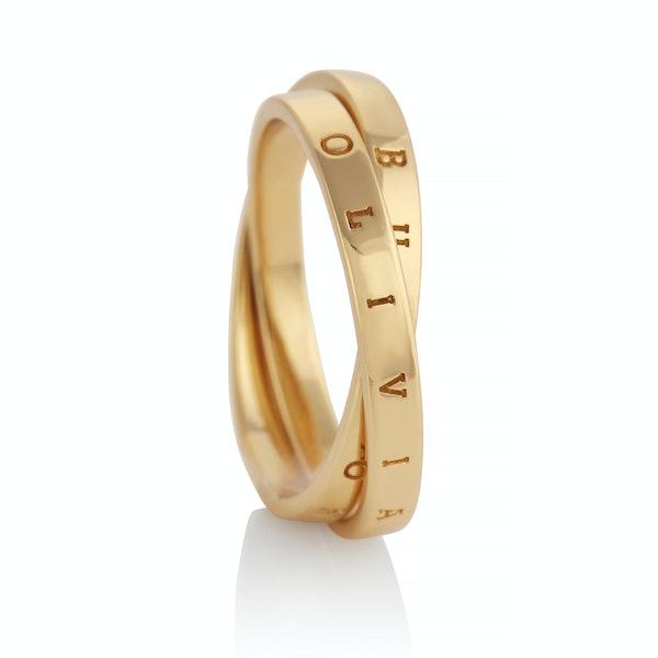 Olivia Burton Interlink Women's Ring