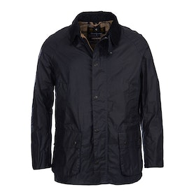Barbour Lightweight Ashby Wax Jacket - Royal Navy