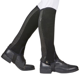 Dublin Easy Care SL Grip Half Chaps - Black