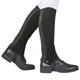 Dublin Easy Care SL Grip Half Kids Chaps - Black