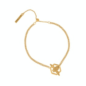 Olivia Burton Honeycomb Bee Damen Bracelet - Gold