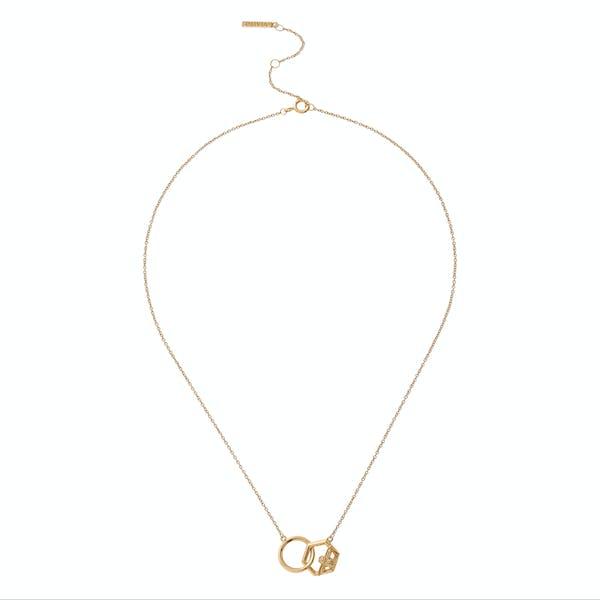 Olivia Burton Honeycomb Bee Women's Necklace