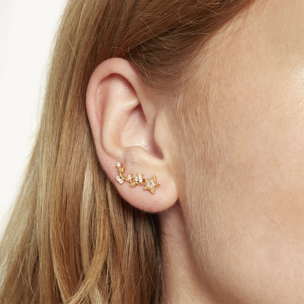 Olivia Burton Celestial Crawler And Stud Kvinner Earrings