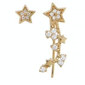 Earrings Donna Olivia Burton Celestial Crawler And Stud - Stud Gold