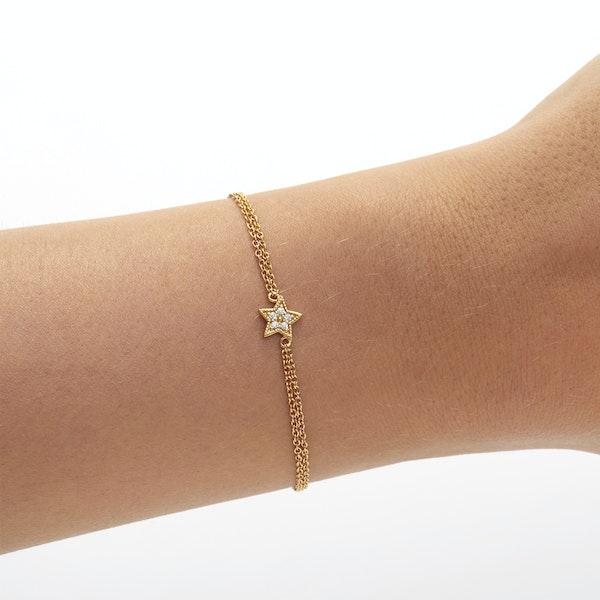 Olivia Burton Celestial Star Chain Women's Bracelet