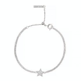 Bracelet Donna Olivia Burton Celestial Star Chain - Silver
