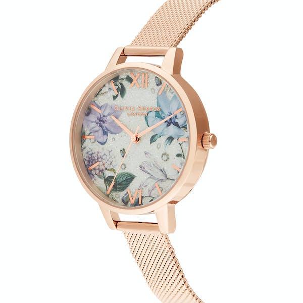 Olivia Burton Bejewelled Florals Women's Watch