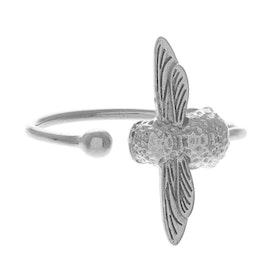 Olivia Burton 3d Bee Damen Ring - Silver