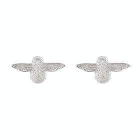 Olivia Burton 3d Bee Stud Damen Earrings - Silver