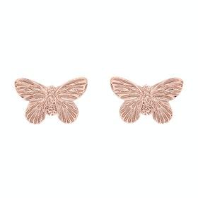 Olivia Burton 3d Butterfly Stud Damen Earrings - Rose Gold