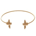 Olivia Burton 3d Bee Open End Bangle Womens Bracelet