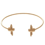 Olivia Burton 3d Bee Open End Bangle Women's Bracelet