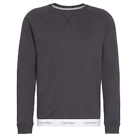Calvin Klein Long Sleeved Sweatshirt Men's Loungewear Tops - Phantom