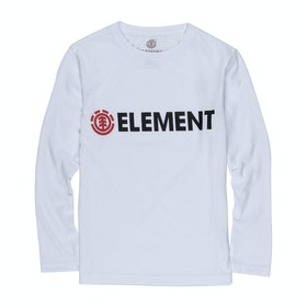 T-Shirt à Manche Longue Element Blazin - Optic White