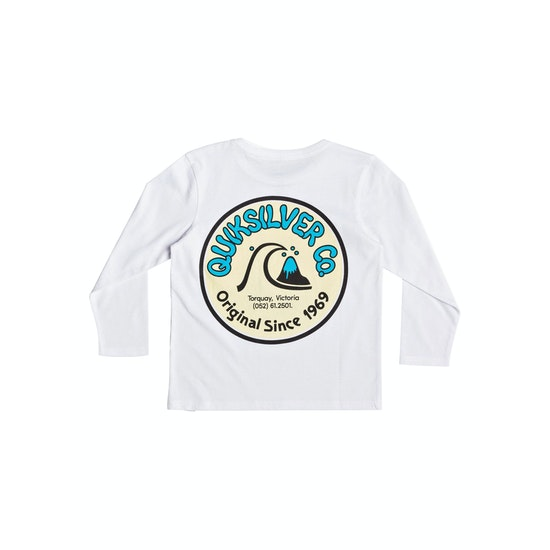 Quiksilver Daily Wax Kids Long Sleeve T-Shirt