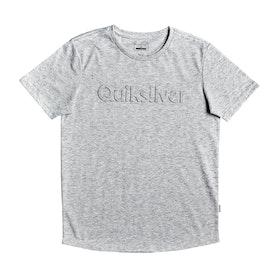 T-Shirt a Manica Corta Quiksilver Modern Legends - Athletic Heather