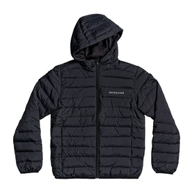 Quiksilver Scaly Youth Boys Jacket - Black