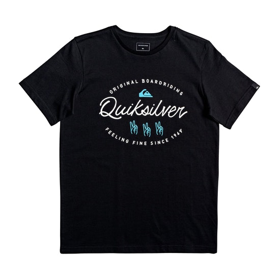 Quiksilver Wave Slave Boys Short Sleeve T-Shirt
