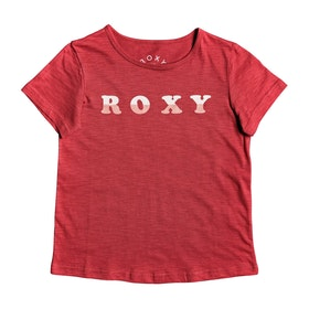 Roxy Sea And Love Girls Short Sleeve T-Shirt - Deep Claret