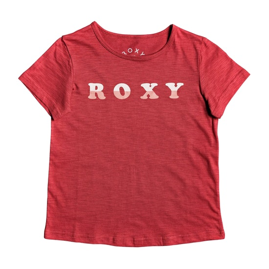 Roxy Sea And Love Girls Short Sleeve T-Shirt