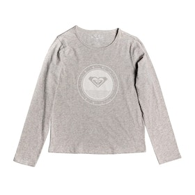 Roxy So Amazing Girls Long Sleeve T-Shirt - Heritage Heather