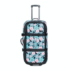 Roxy Long Haul Womens Luggage - Anthracite Crystal Flower
