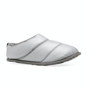Sorel Hadley Slippers - Pure Silver