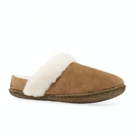 Sorel Youth Nakiska Slide II Kids Slippers - Camel Brown, Na