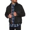 Superdry Hacienda Sherpa Denim Jacket - Bode Black Worn