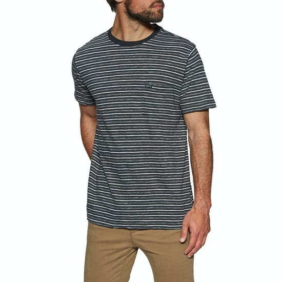 RVCA Foz Stripe Crew Short Sleeve T-Shirt