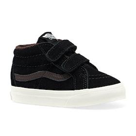 Vans Sk8 Mid Reissue V MTE Kids Toddler Shoes - Black Chocolate Torte