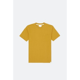 T-Shirt a Manica Corta Norse Projects Johannes - Montpellier Yellow