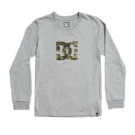 T-Shirt à Manche Longue DC Star 2 - Grey Heather Camo