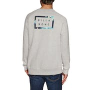 Billabong Die Cut Theme Crew Mens Sweater