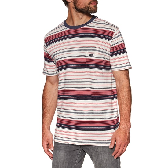 RVCA Deadbeat Stripe Short Sleeve T-Shirt