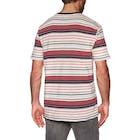 RVCA Deadbeat Stripe Short Sleeve T-Shirt