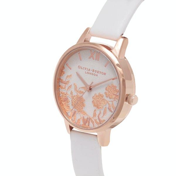 Olivia Burton Lace Detail Women's Watch