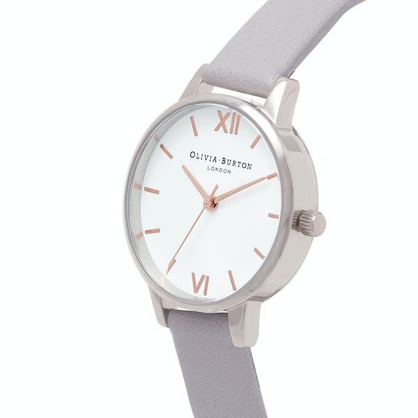 Olivia Burton White Dial Women's Watch