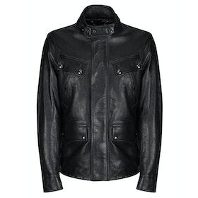 Belstaff Denesmere Men's Leather Jacket - Black