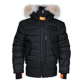 Parajumpers Ski Master Boy's Snow Jacket - Black