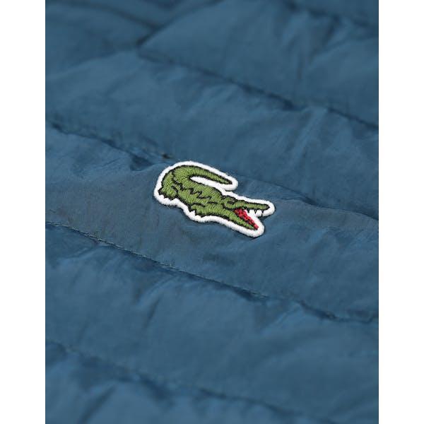 Lacoste Embroidered Taffeta Thermoweste