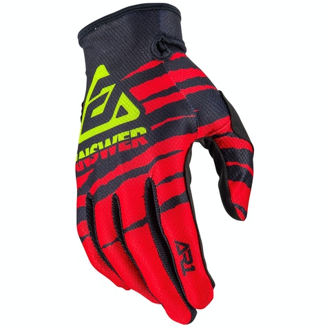 Answer AR-1 Pro Glow Motocross Gloves