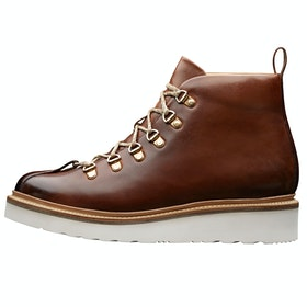 Grenson Bobby Boots - Tan Hand Painted