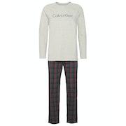 Calvin Klein Woven Long Sleeved Pant Set Pyjamas