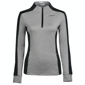 Dublin Rachel Half Zip Thermal Ladies Top - Charcoal