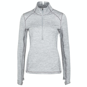 Dublin Violet Half Zip Long Sleeve Base Layer Top - Shadow