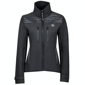 Dublin Zoe Ladies Softshell Jacket - Black